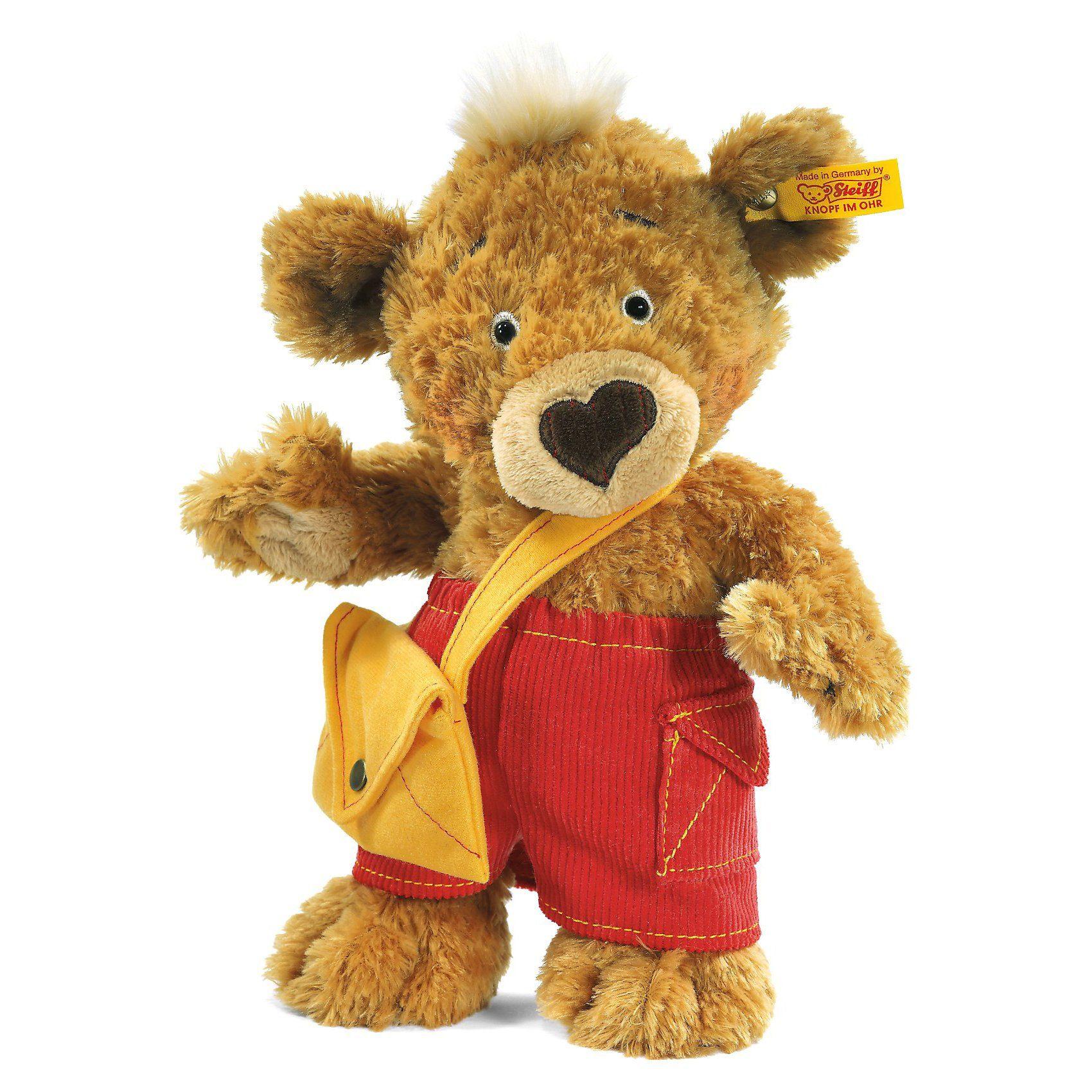 Steiff Knopf Teddybär 25 cm hellbraun