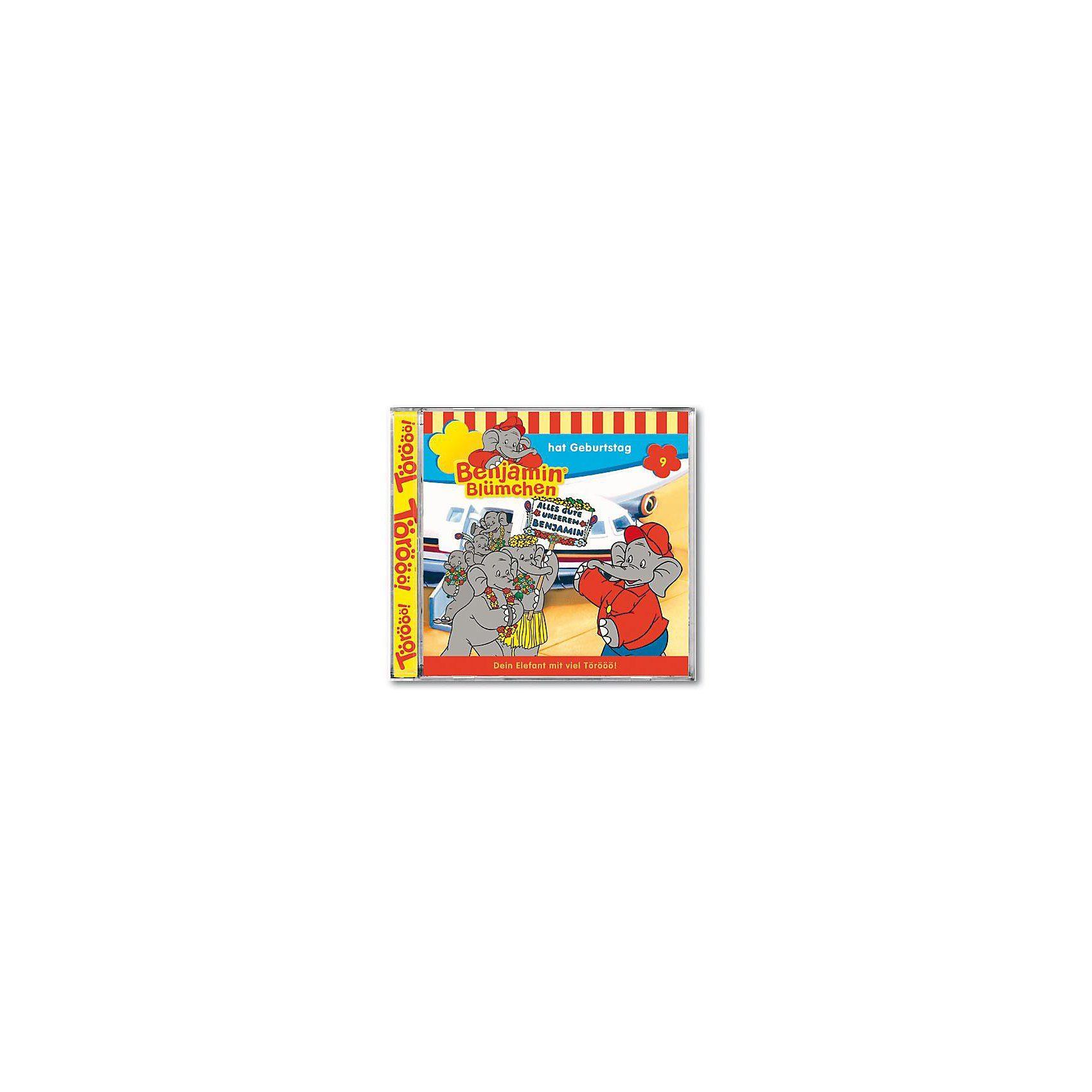 Kiddinx CD Benjamin Blümchen 09 (Geburtstag)