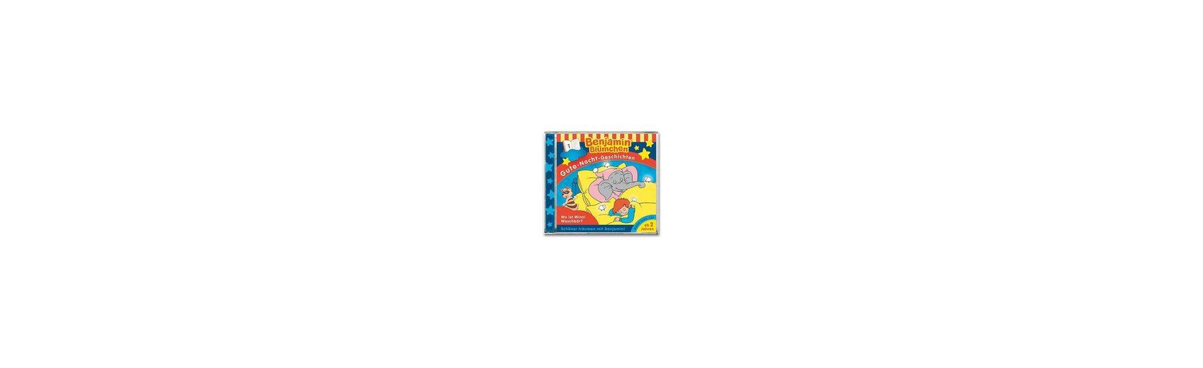 Kiddinx CD Benjamin Blümchen - Gute Nacht G.01 Wo ist Winnie Waschb
