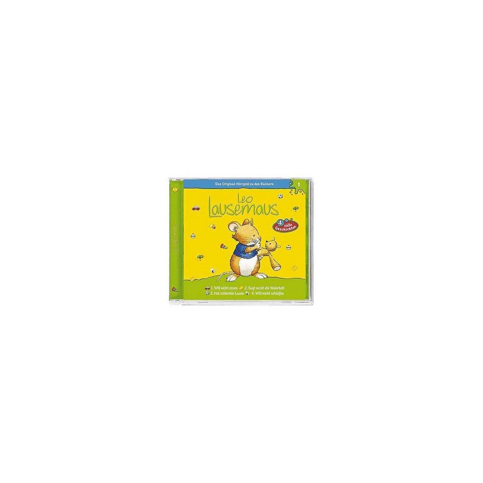 Kiddinx CD Leo Lausemaus 01 (...will nicht essen)