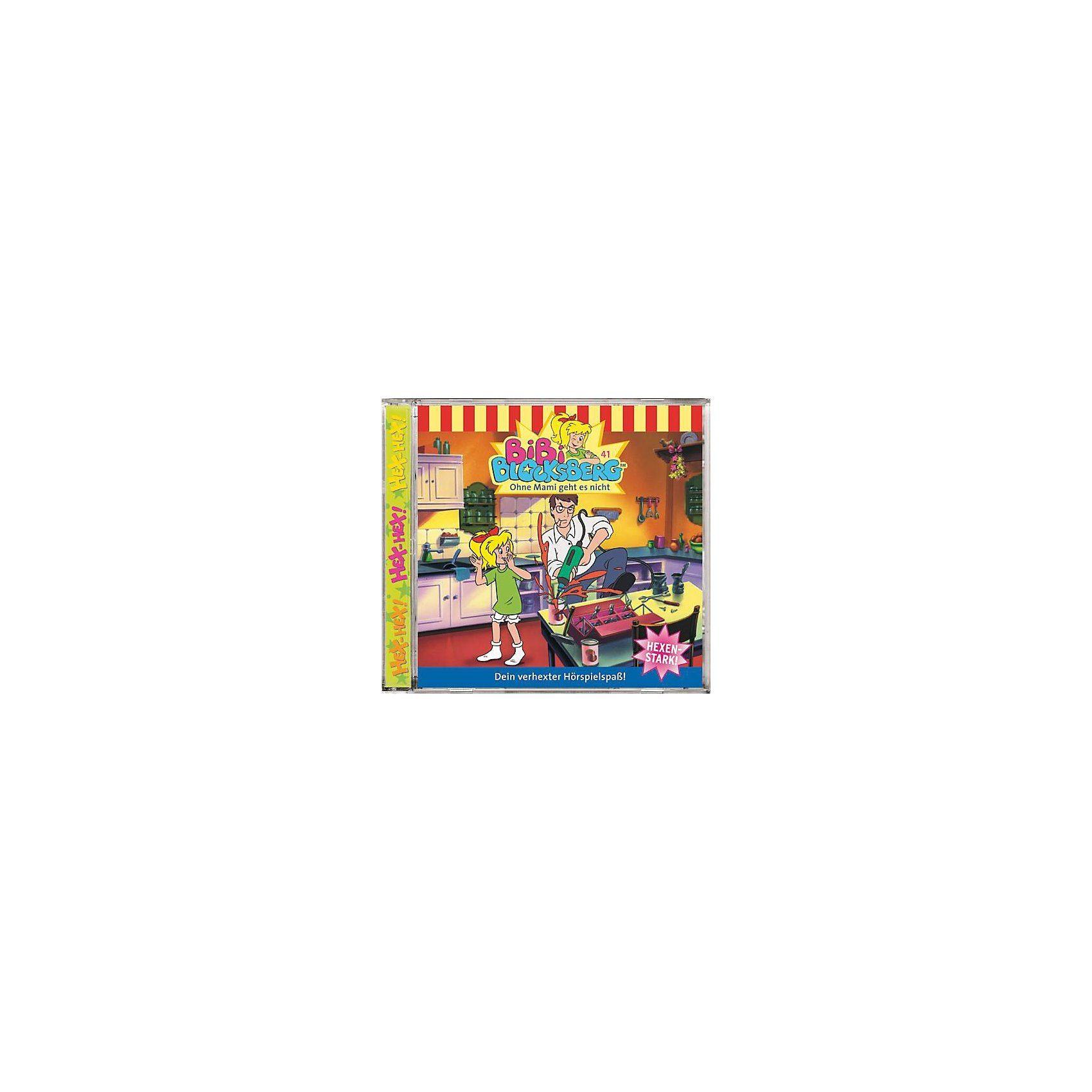 Kiddinx CD Bibi Blocksberg 41 (Ohne Mami geht es nicht)