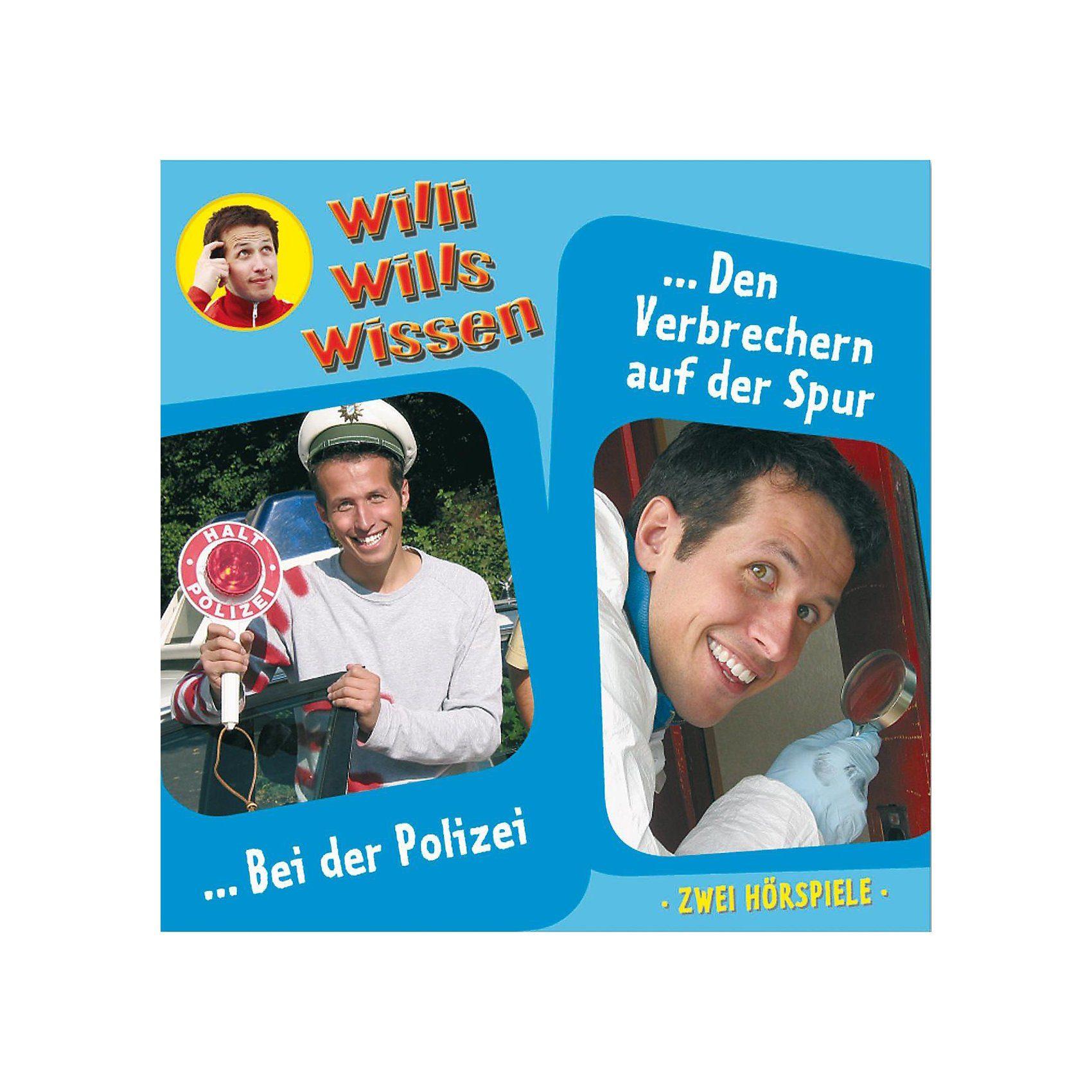 Edel CD Willi wills wissen 06: Bei der Polizei/ Den Verbrechern a