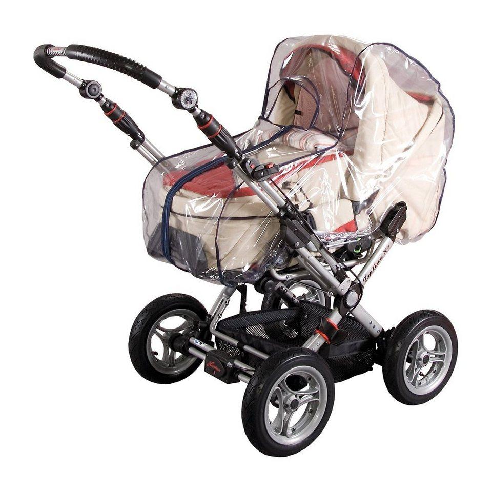 sunnybaby Regenverdeck für Kinderwagen, mit Reißverschluss, marine
