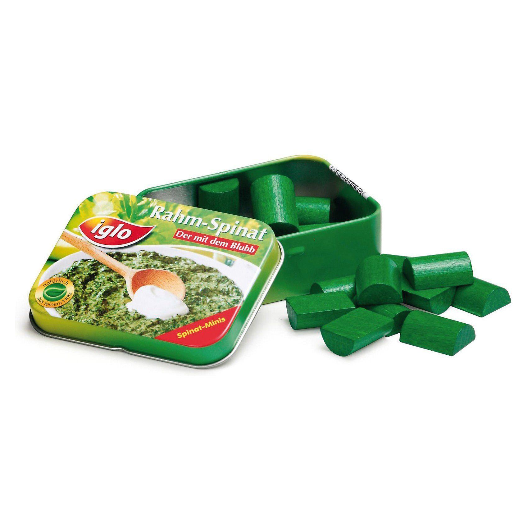 ERZI Spiellebensmittel Spinat in der Dose