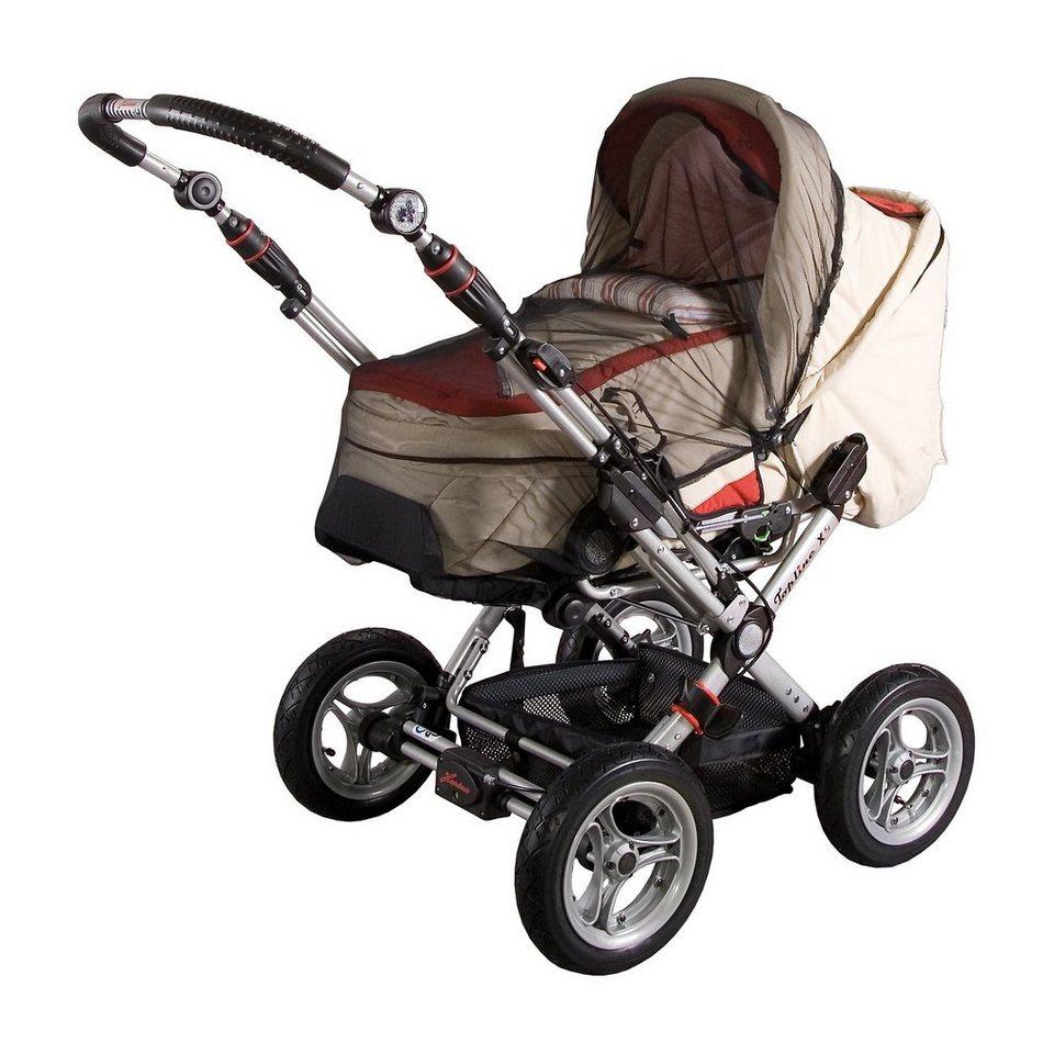 sunnybaby Insektenschutz für Kinderwagen, schwarz in schwarz