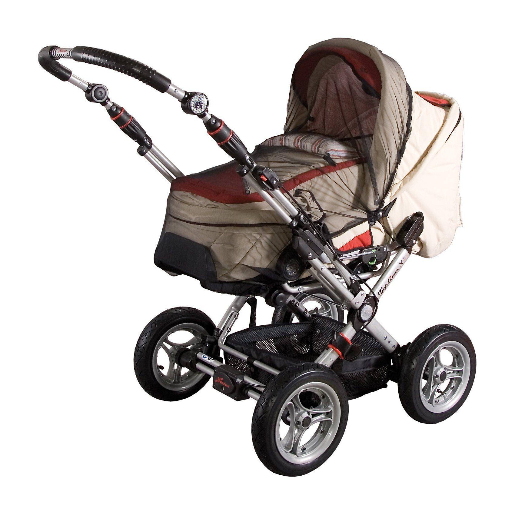 sunnybaby Insektenschutz für Kinderwagen, schwarz
