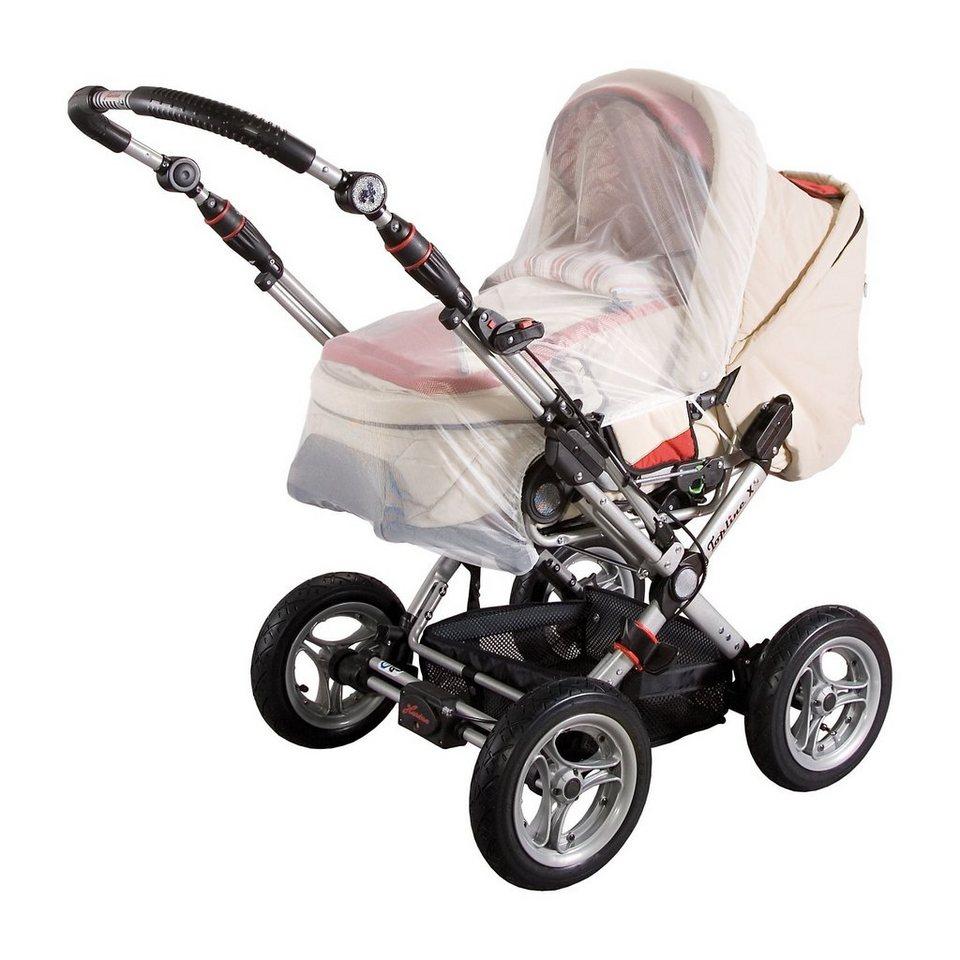 sunnybaby Insektenschutz für Kinderwagen, weiß in weiß