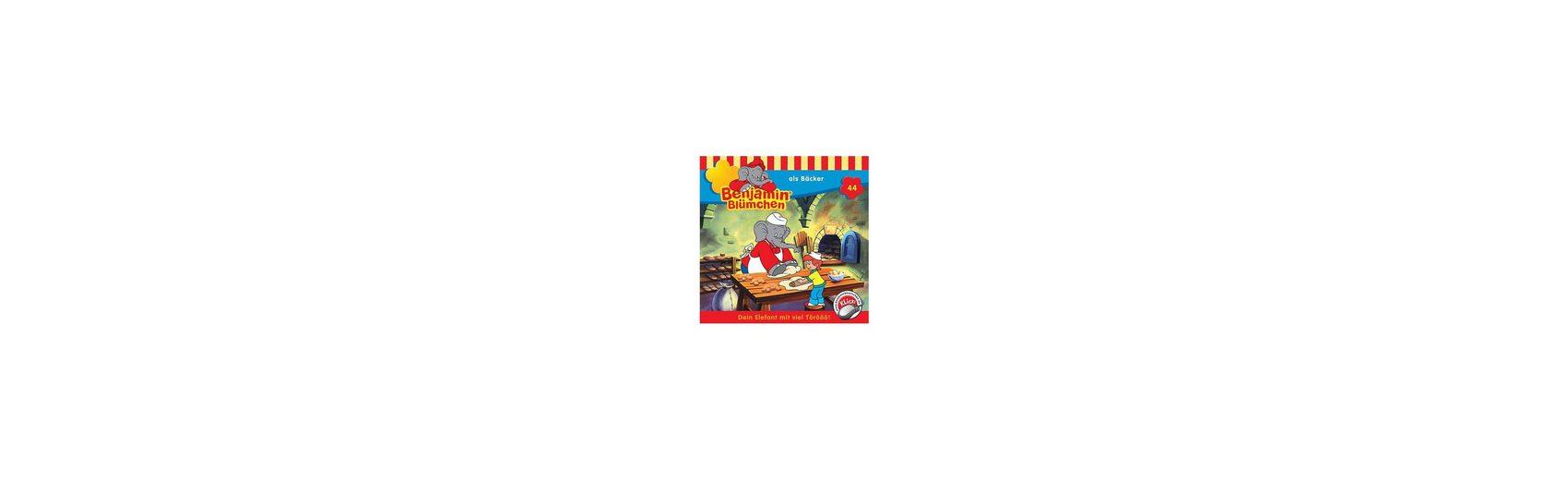 Kiddinx CD Benjamin Blümchen 44: Als Bäcker