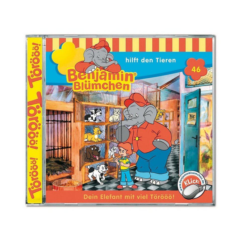 Kiddinx CD Benjamin Blümchen 46: Hilft den Tieren