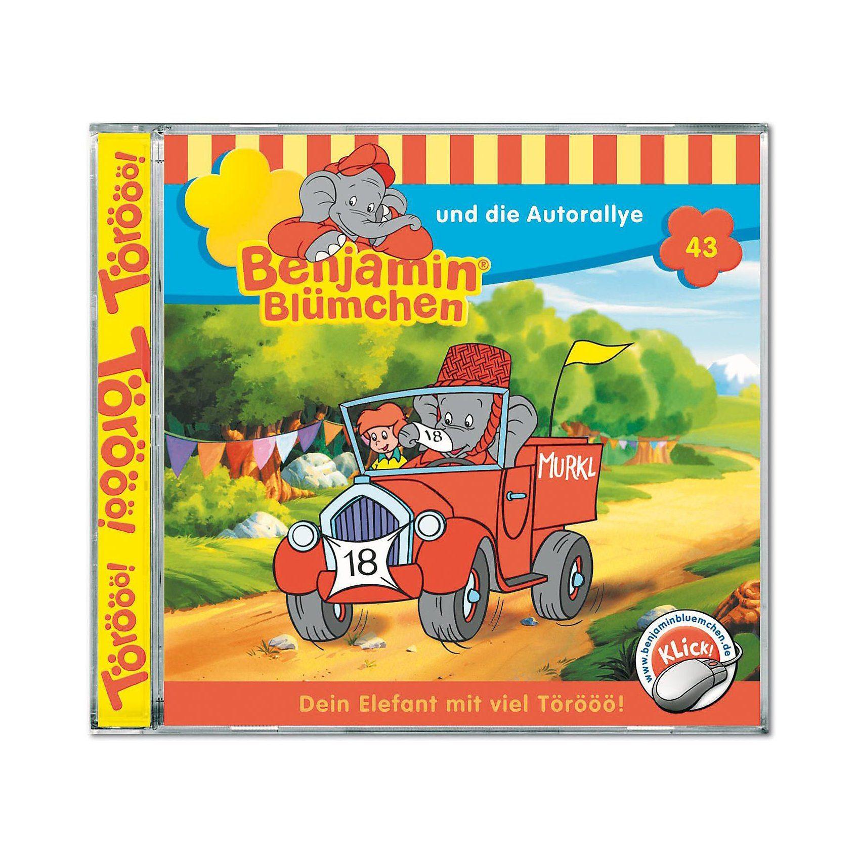 Kiddinx CD Benjamin Blümchen 43: Und die Autorally