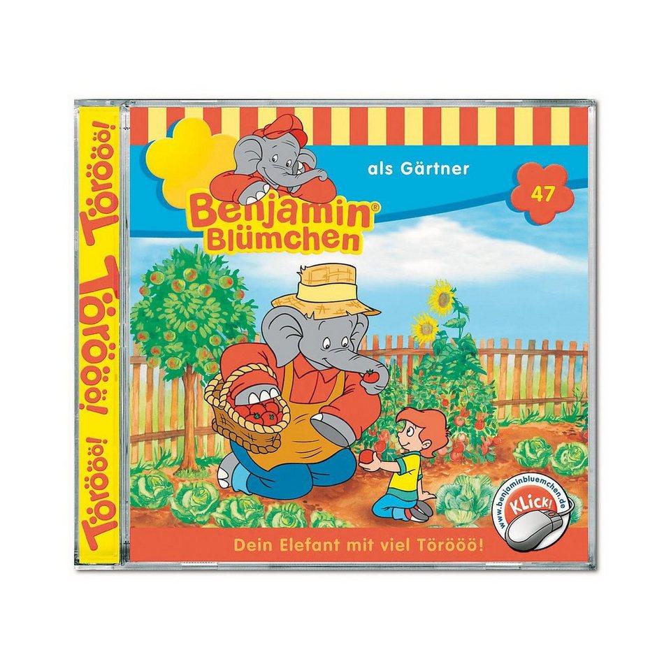 Kiddinx CD Benjamin Blümchen 47: Als Gärtner