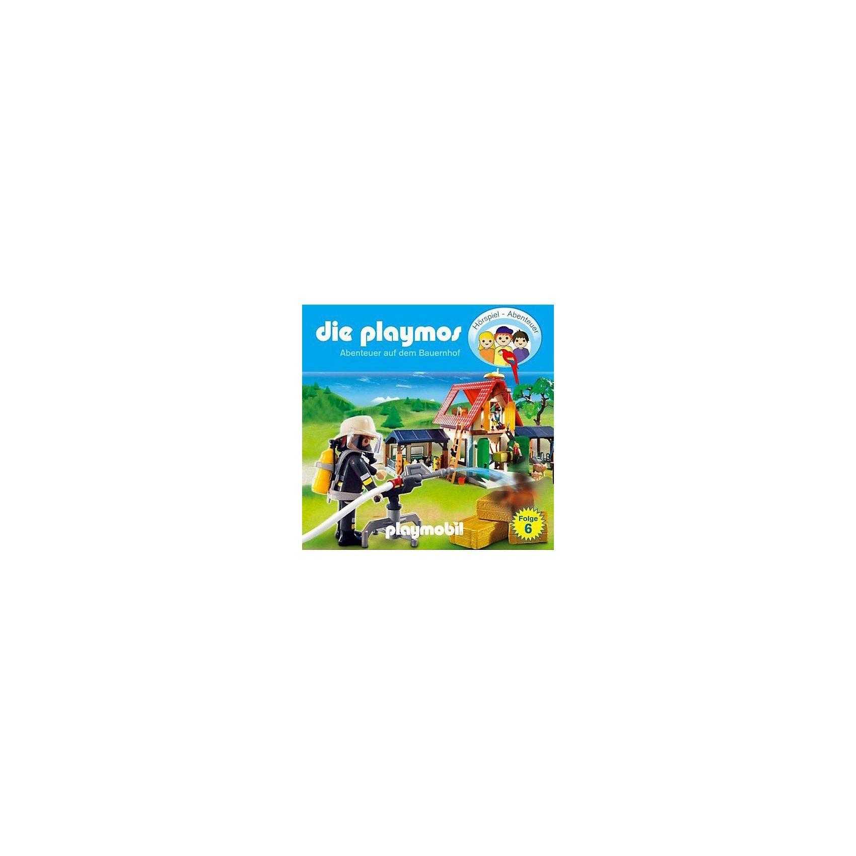 Edel CD Die Playmos 06: Abenteuer auf dem Eichenhof