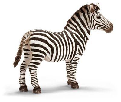Schleich 14391 Wild Life: Zebra Hengst