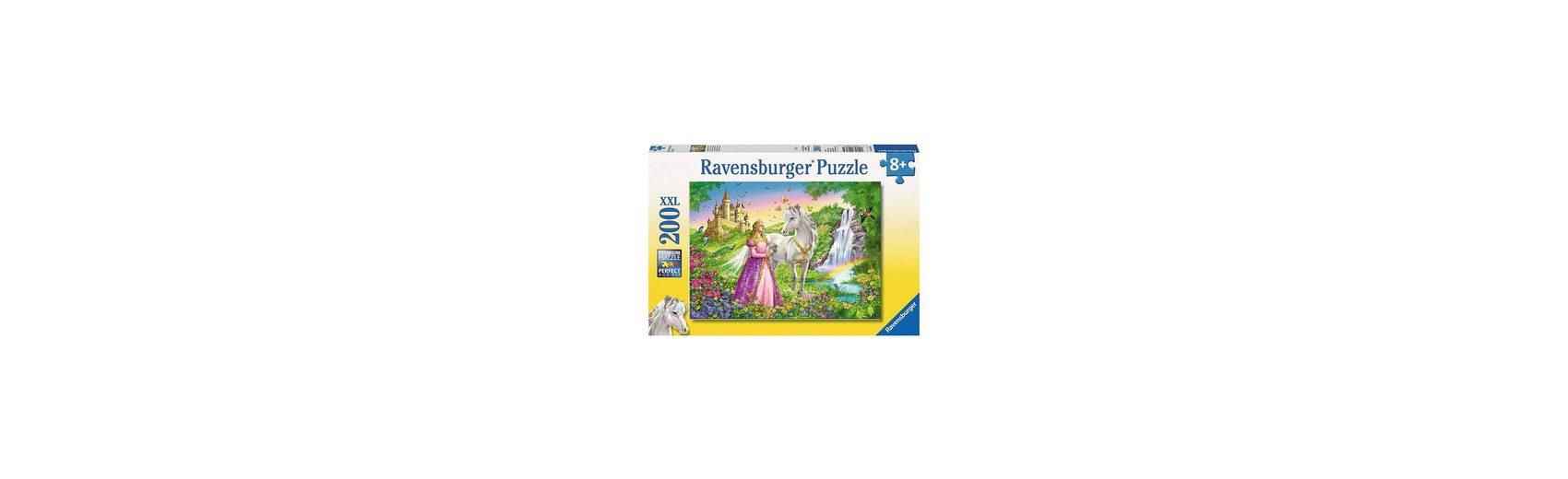 Ravensburger Puzzle XXL 200 Teile Prinzessin mit Pferd