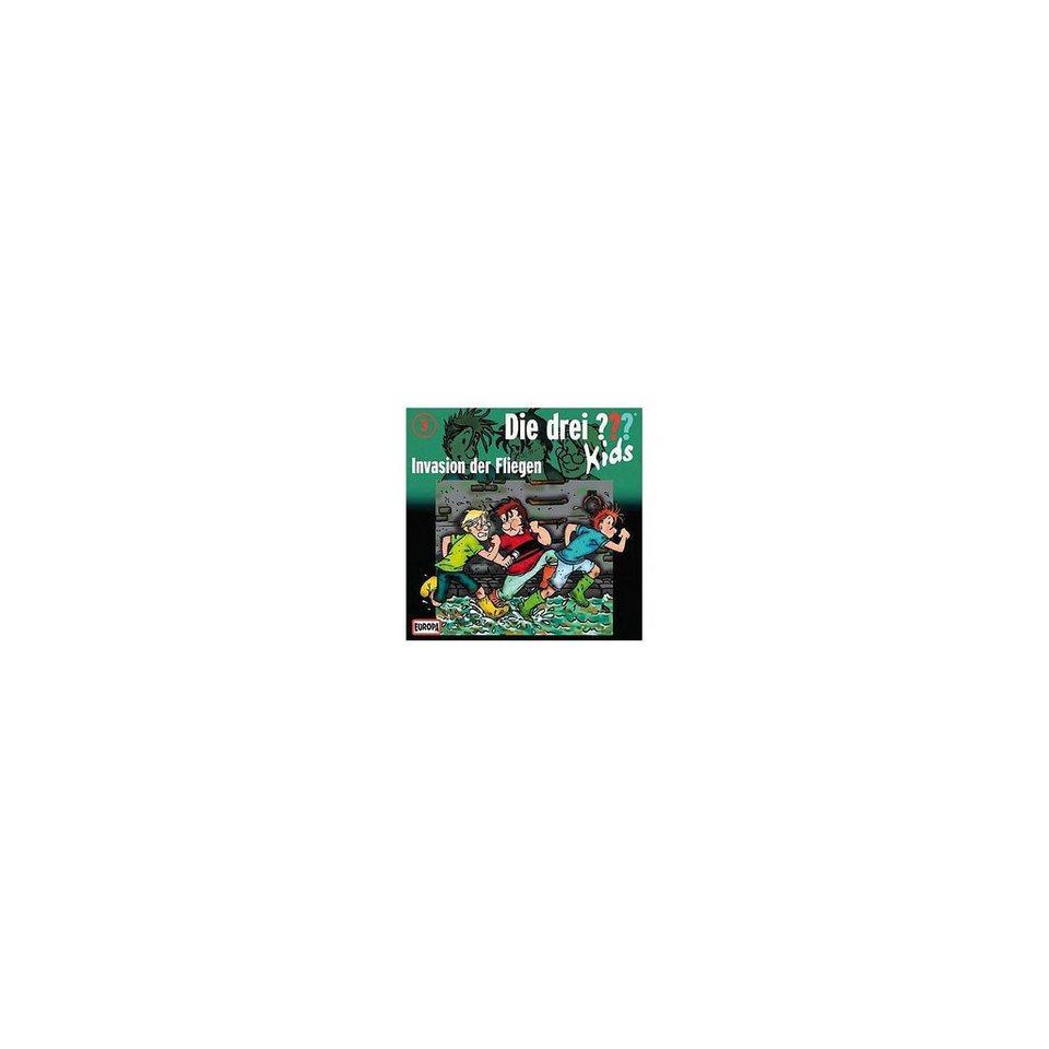 SONY BMG MUSIC CD Die drei ??? Kids 03 - Invasion der Fliegen