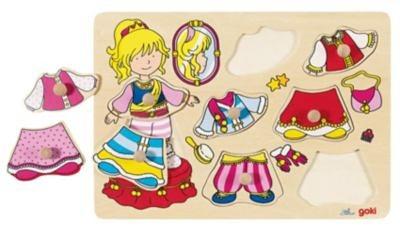 goki 57814 Anziehpuzzle Prinzessin