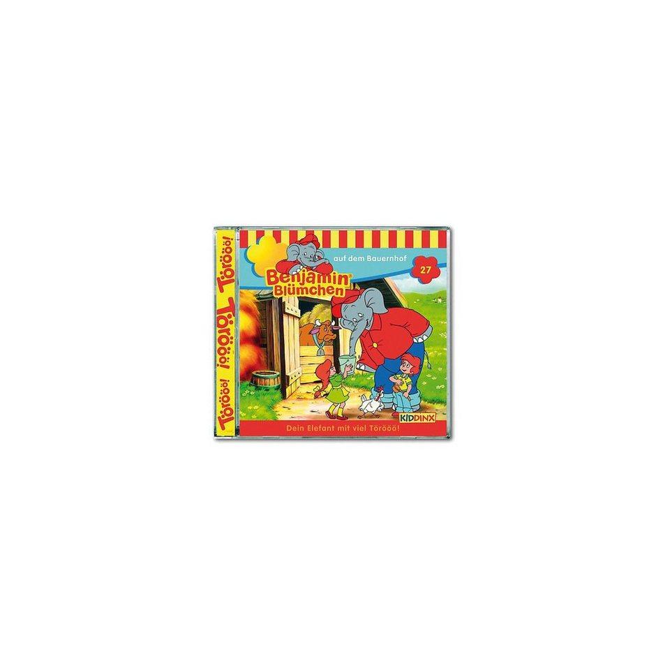 Kiddinx CD Benjamin Blümchen 27 - auf dem Bauernhof