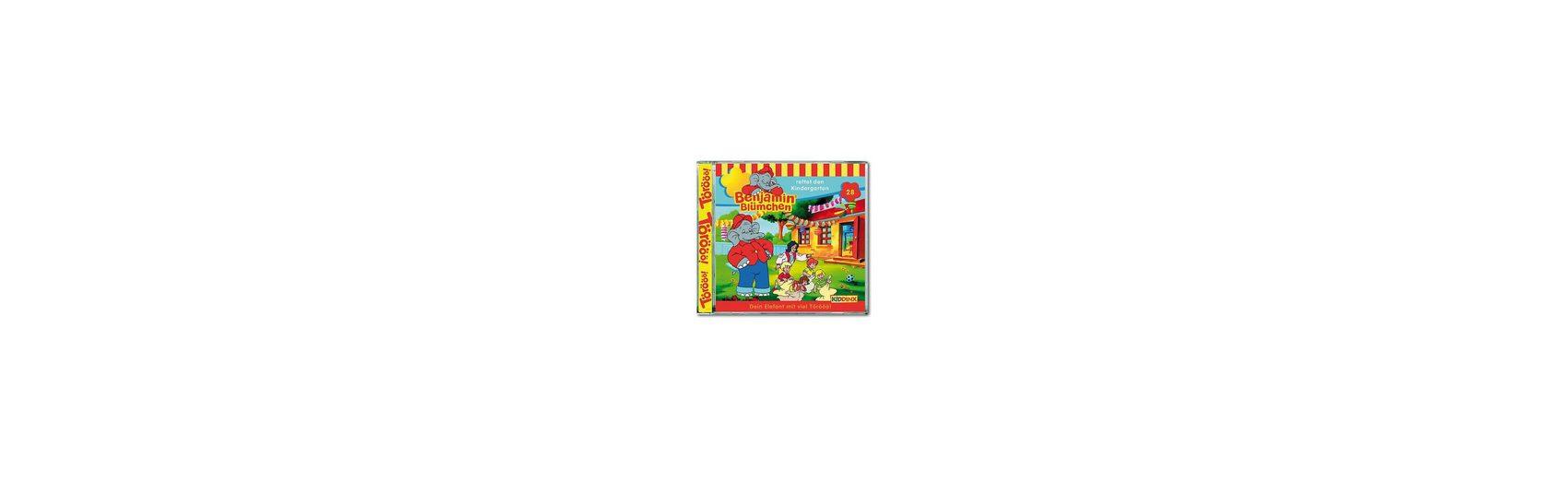 Kiddinx CD Benjamin Blümchen 28 - rettet den Kindergarten