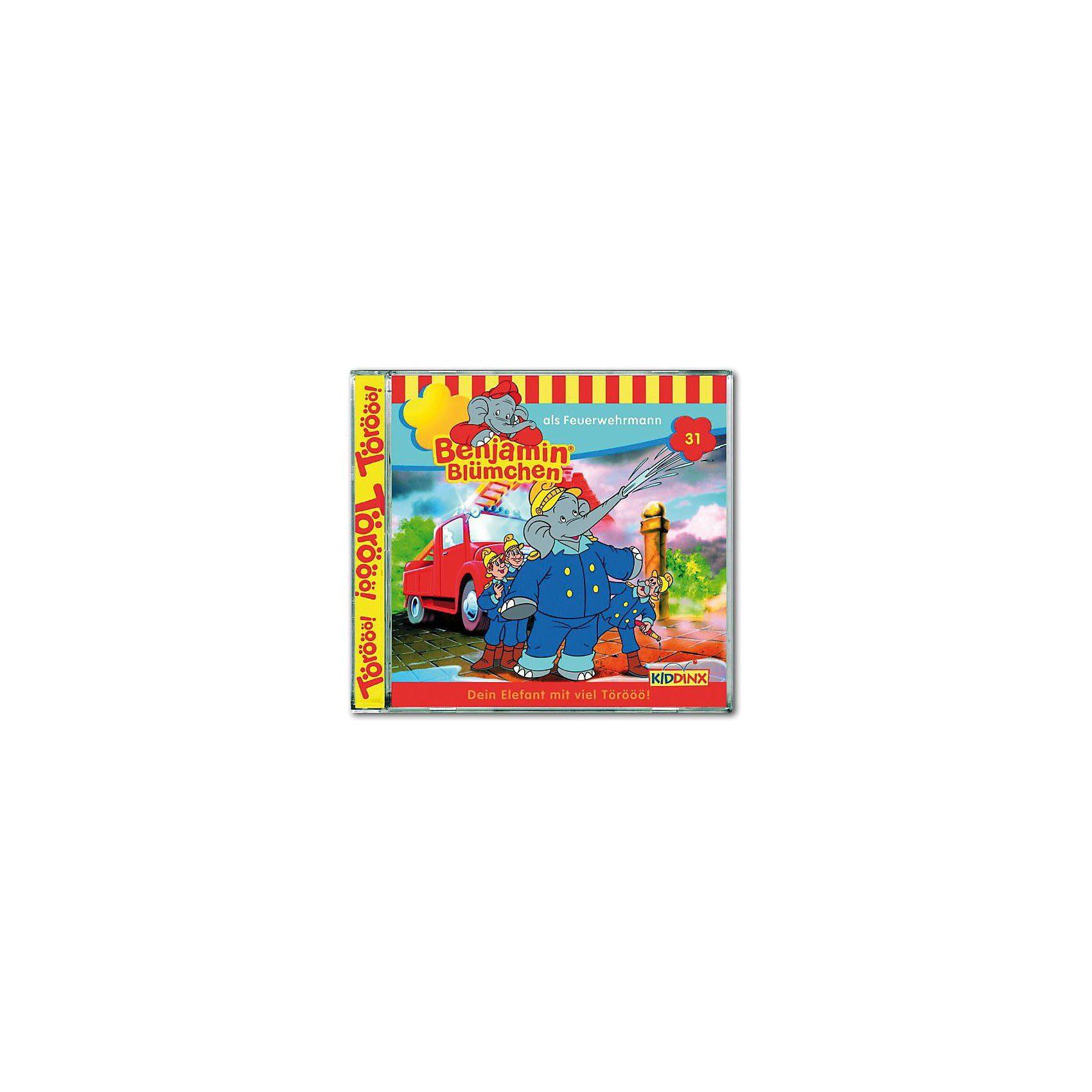 Kiddinx CD Benjamin Blümchen 31 - als Feuerwehrmann
