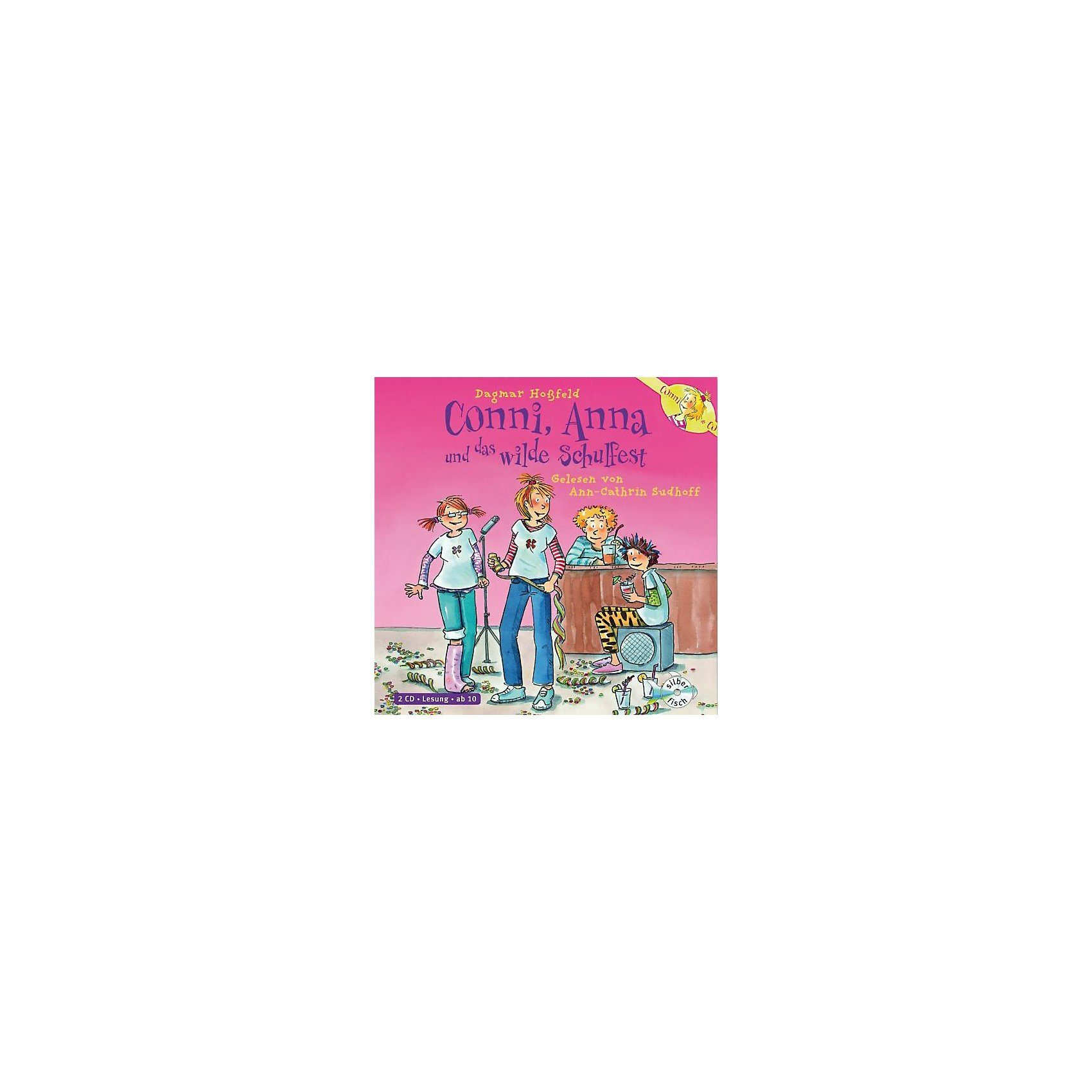 Carlsen Verlag Conni & Co.: Conni, Anna und das wilde Schulfest, 2 Audio-CD