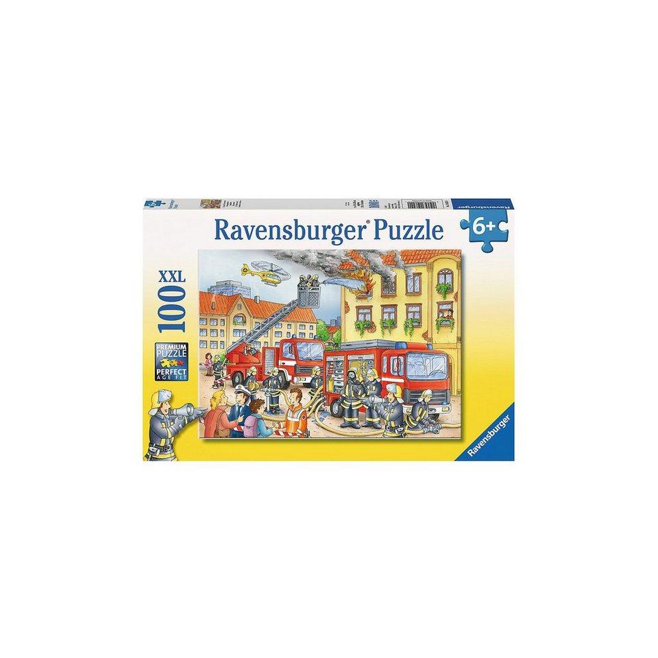 Ravensburger Puzzle XXL 100 Teile Unsere Feuerwehr