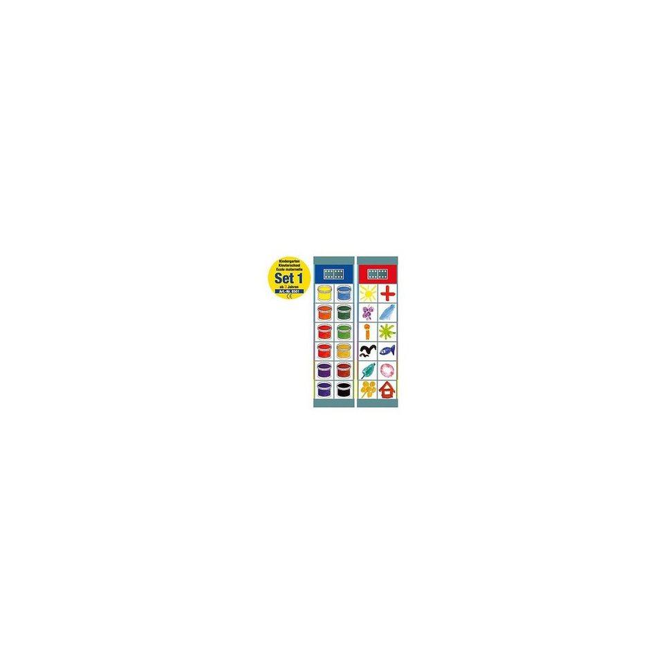Magnetspiele Flocards Set 1: Kindergarten ab 3 Jahre