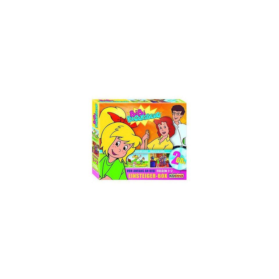 Kiddinx CD Bibi Blocksberg - Einsteiger-Box - 2 Audio-CDs