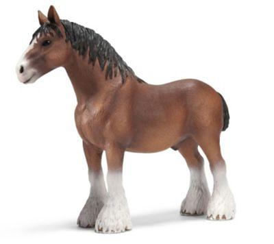 Schleich Pferde: 13670 Clydesdale Hengst
