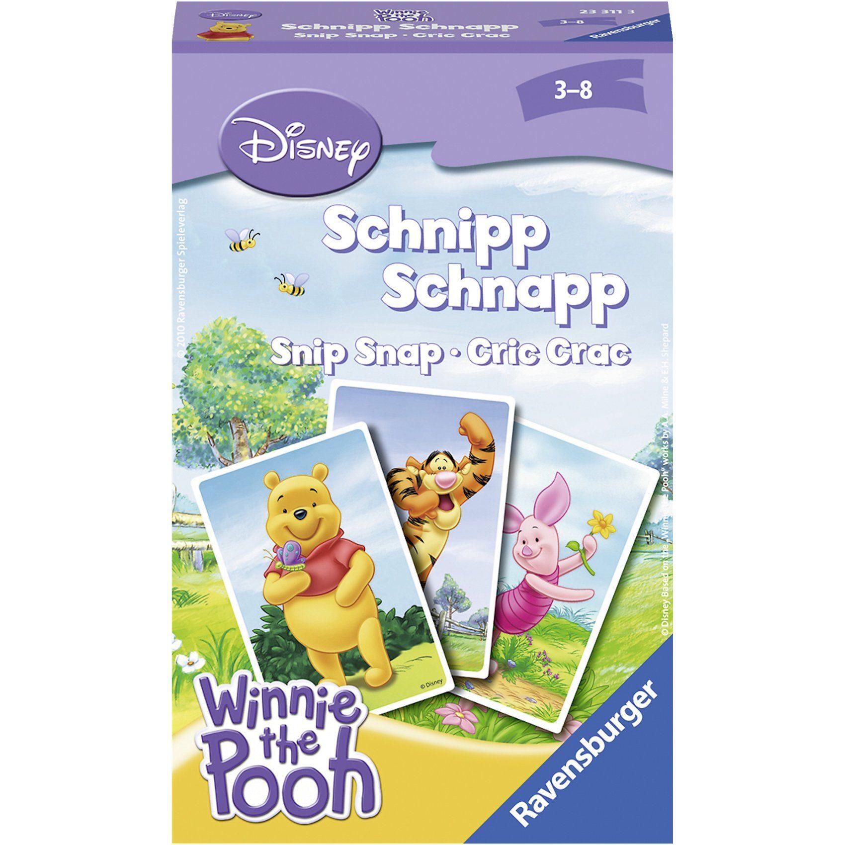 Ravensburger Mitbringspiel Winnie the Pooh Schnipp Schnapp