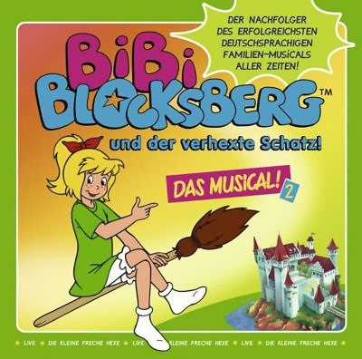 Kiddinx CD Kindermusik Bibi Blocksberg - und der verhexte Schatz - D