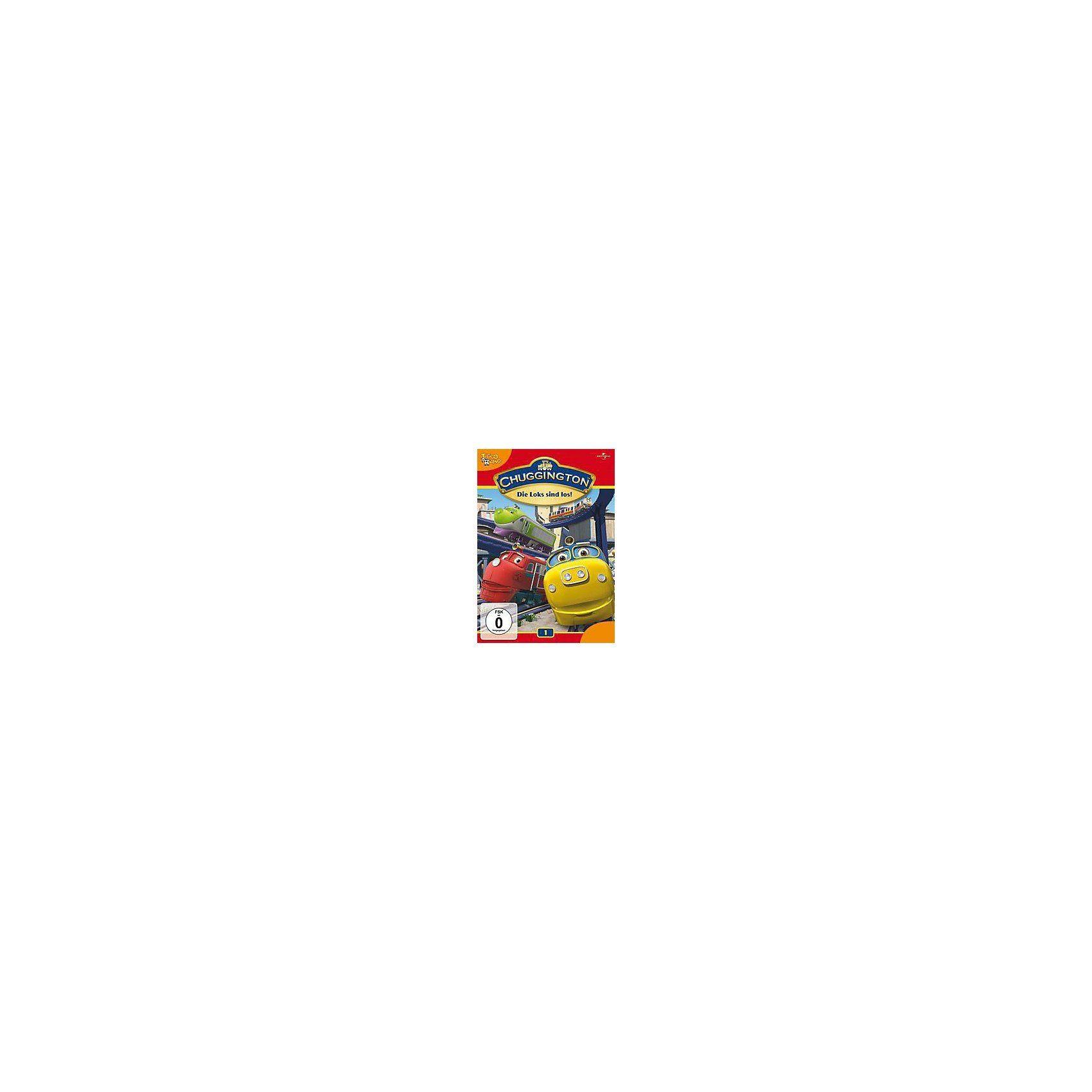 Universal DVD Chuggington 01 - Die Loks sind los