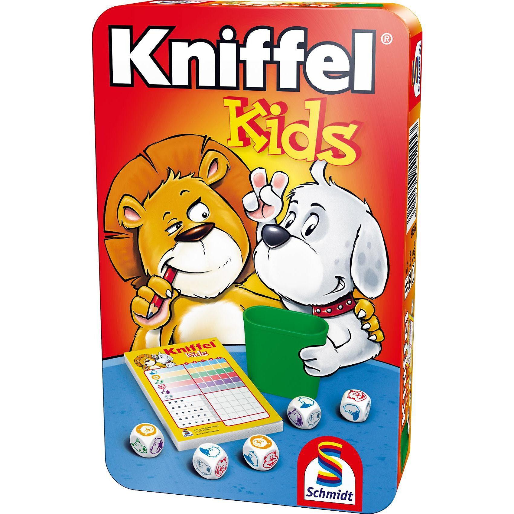 Schmidt Spiele Mitbringspiel Kniffel Kids