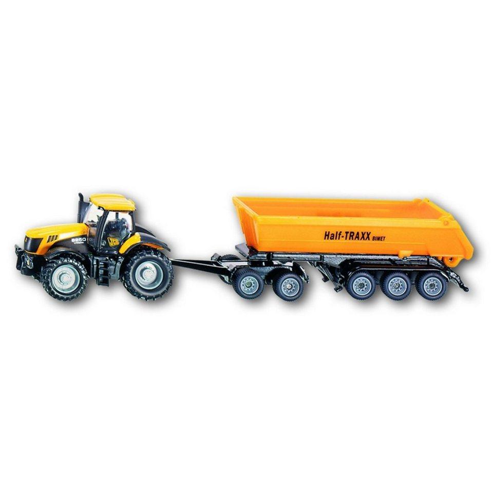 SIKU 1858 Traktor mit Dolly und Kippmulde 1:87