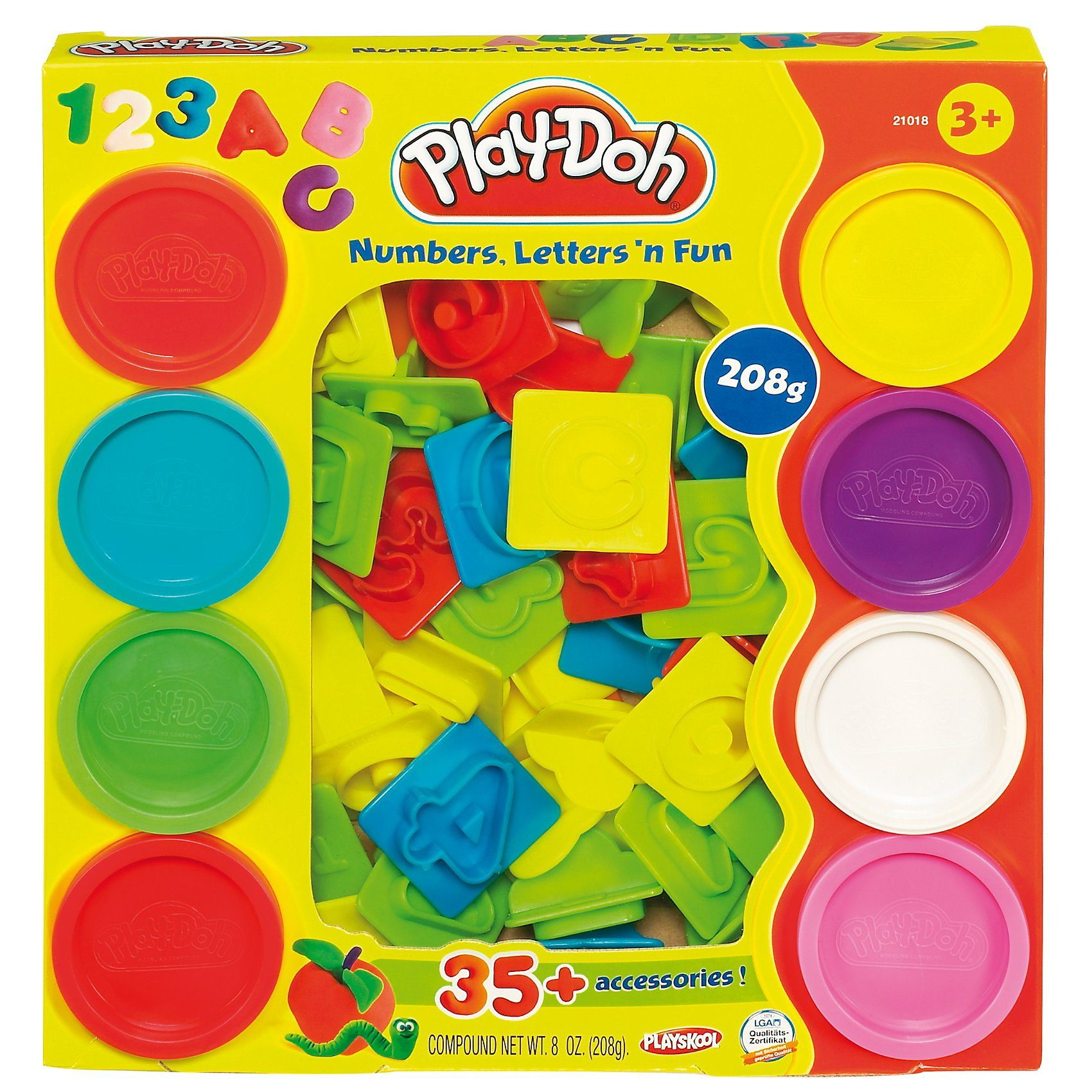 Hasbro Play-Doh - Knetspaß Buchstaben und Zahlen