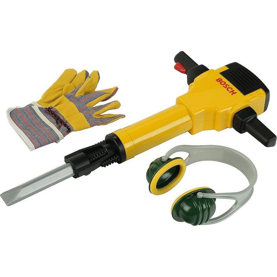 klein bosch bohrhammer mit handschuhen und ohrensch tzern online kaufen otto. Black Bedroom Furniture Sets. Home Design Ideas