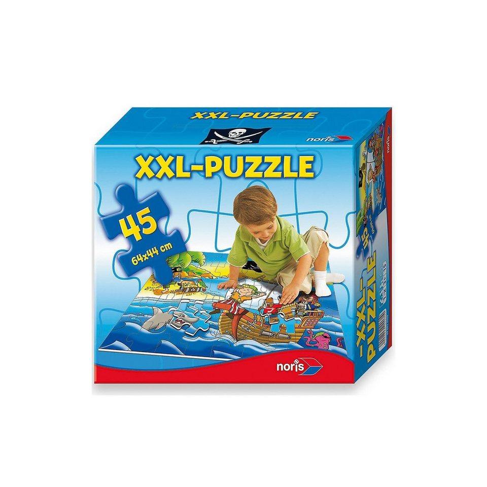 Noris Bodenpuzzle Piraten - 45 Teile