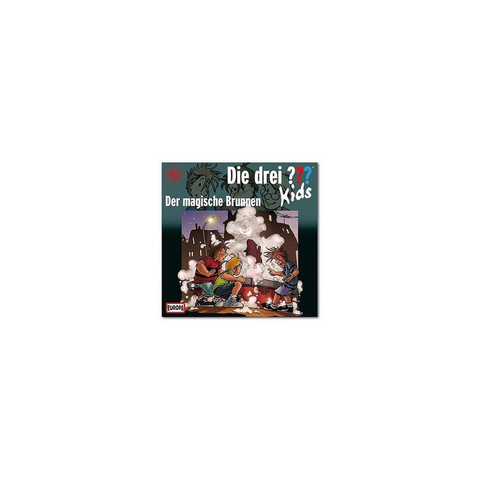 SONY BMG MUSIC CD Die drei ??? Kids 16 - Der magische Brunnen