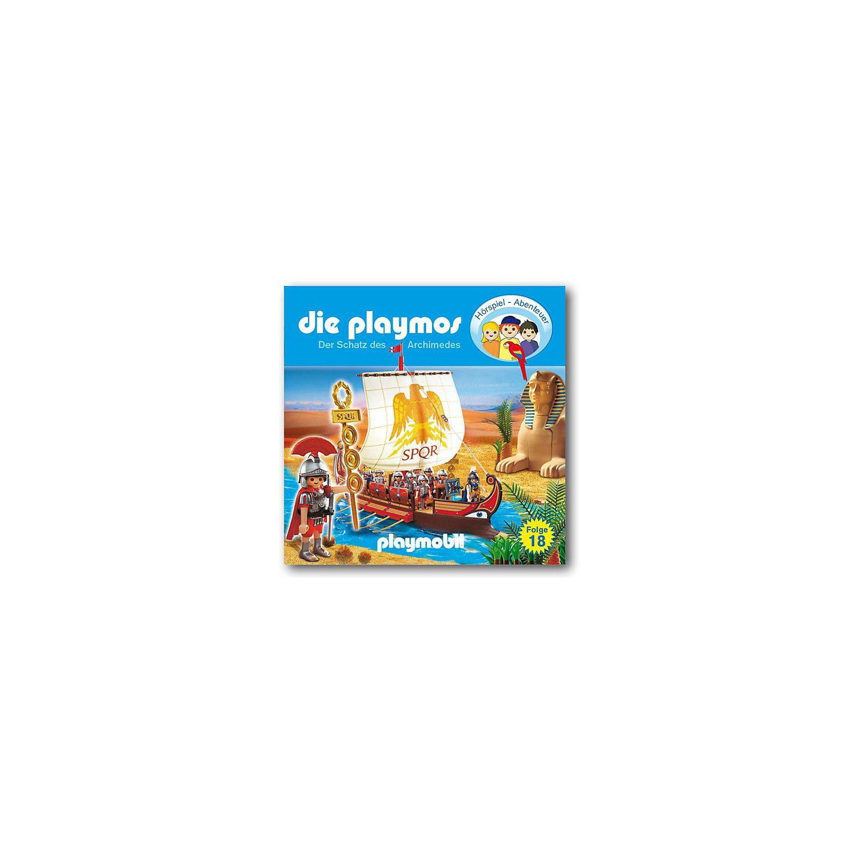 Edel Germany GmbH CD Die Playmos 18 - Der Schatz des Archimedes