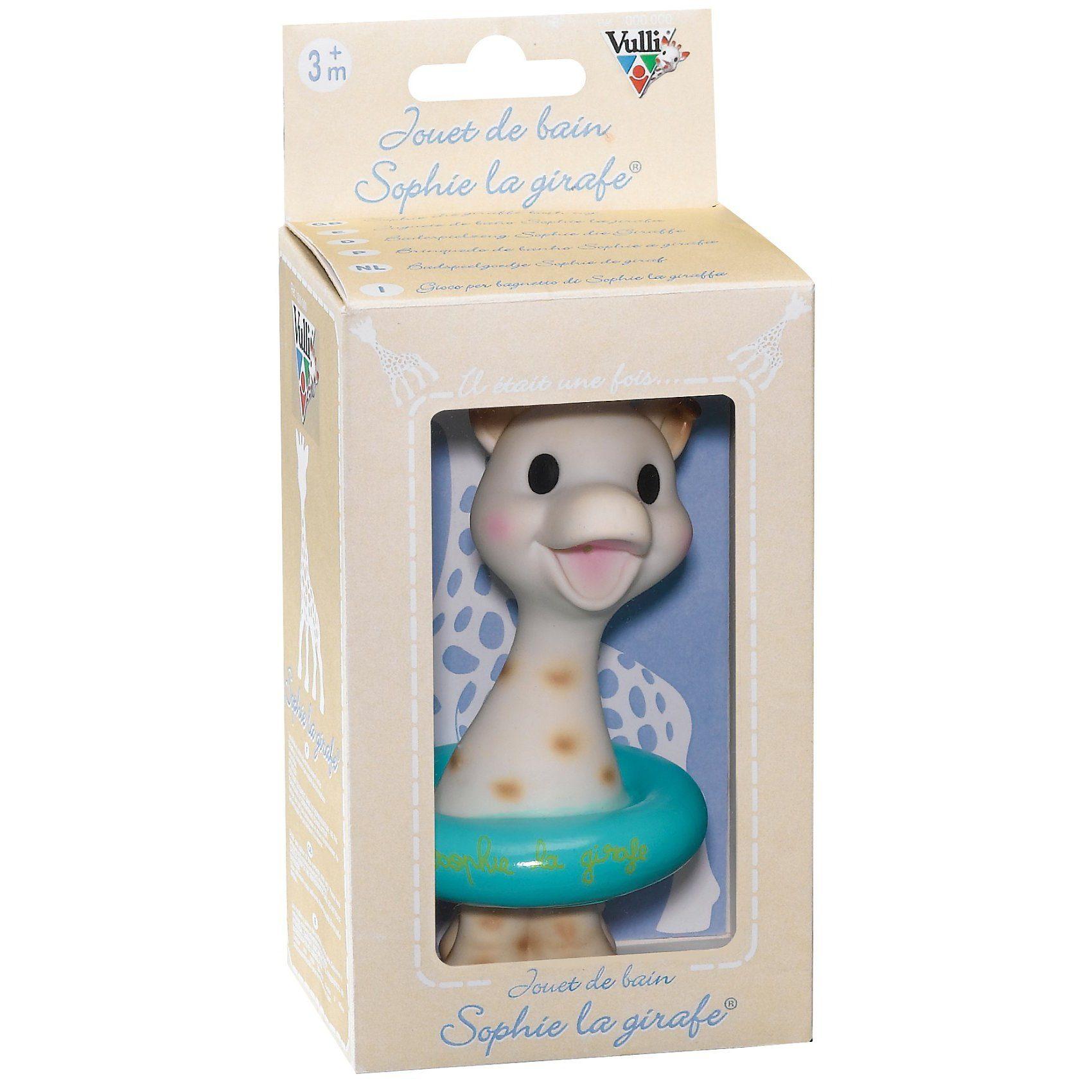 Vulli Sophie die Giraffe - Badespielzeug in Geschenkbox