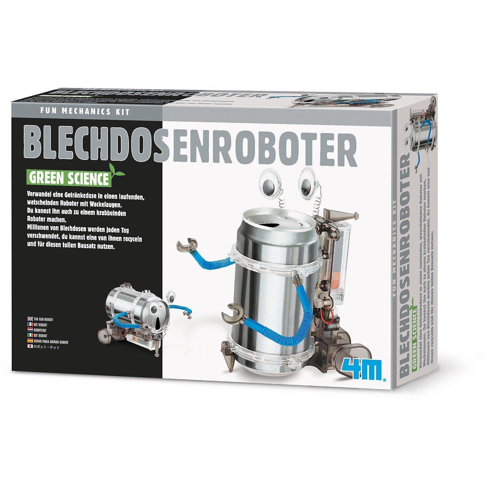 Fun Mechanics Bausatz Blechdosenroboter