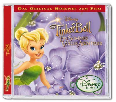 Kiddinx CD Disney's Tinkerbell 3- Ein Sommer voller Abenteuer