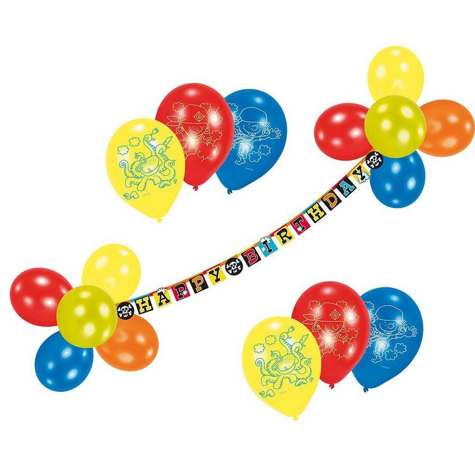 Riethmüller Luftballon-Deko-Set Piraaates!