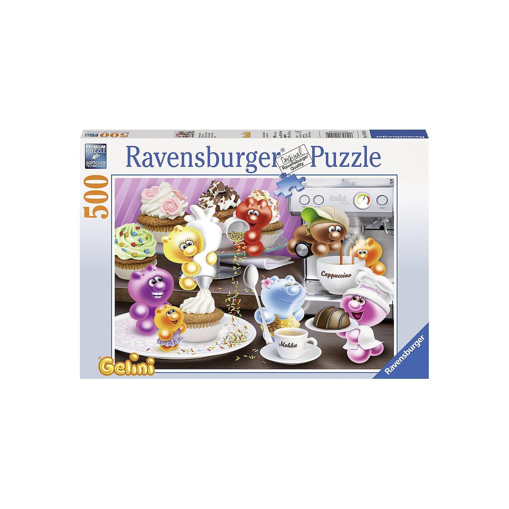 Ravensburger Gelini: Frühstückskaffee - 500 Teile Puzzle
