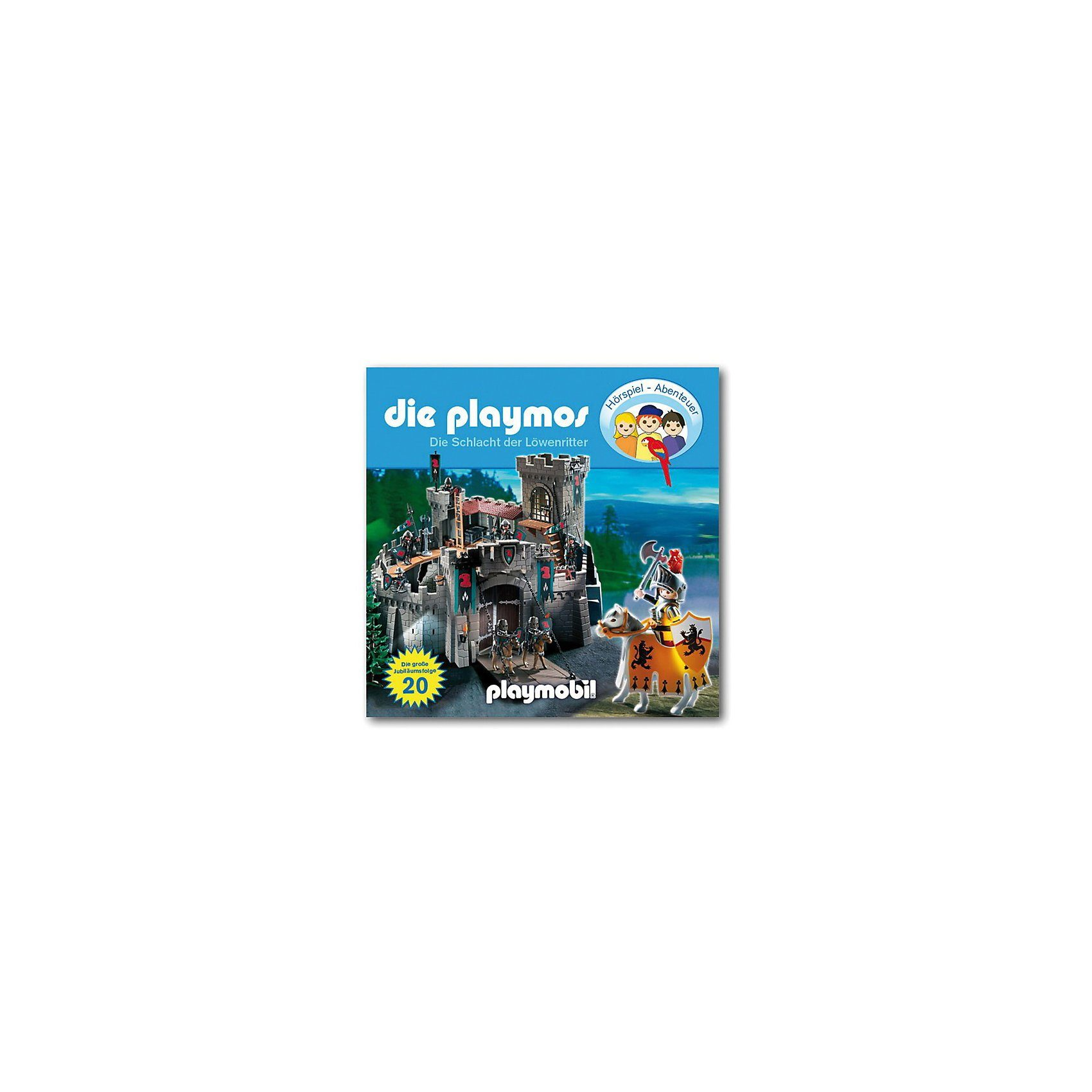 Edel Germany GmbH CD Die Playmos 20 - Die große Schlacht der Löwenritter