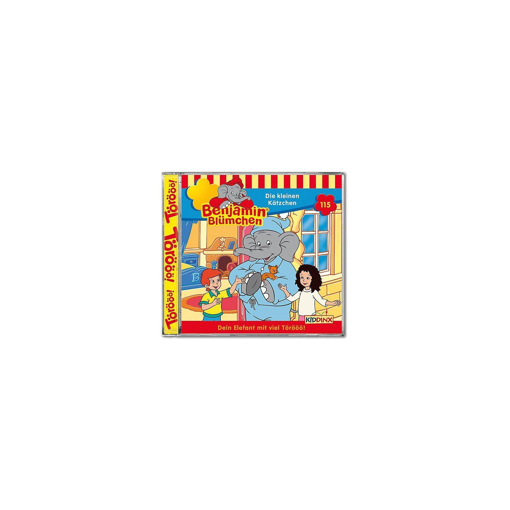 Kiddinx CD Benjamin Blümchen 115 - Die kleinen Kätzchen