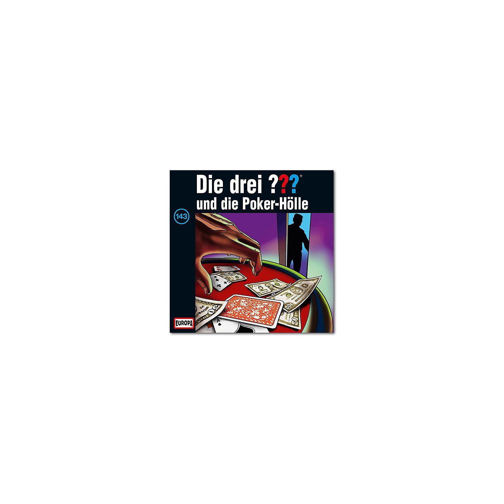 SONY BMG MUSIC CD Die Drei ??? 143 -und die Poker Hölle