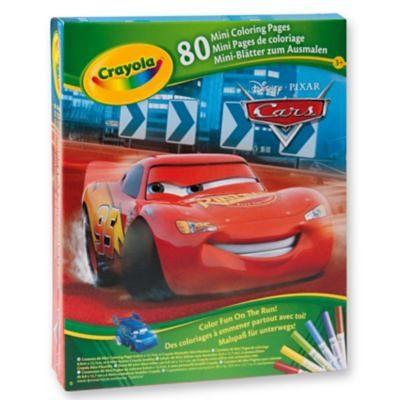Crayola Disney Malspaß Cars, inkl. Fasermaler