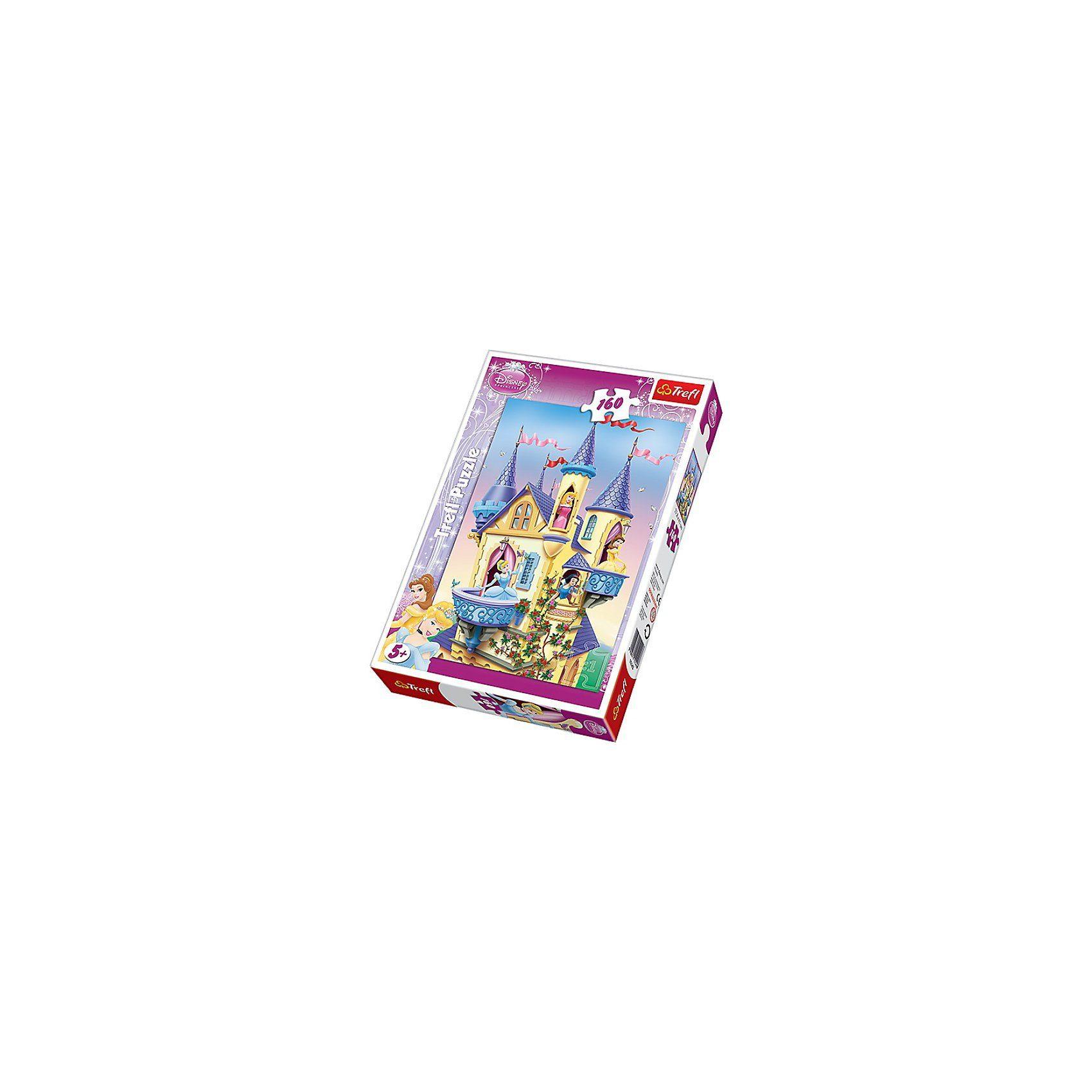 Trefl Puzzle 160 Teile - Disney Princess Palast