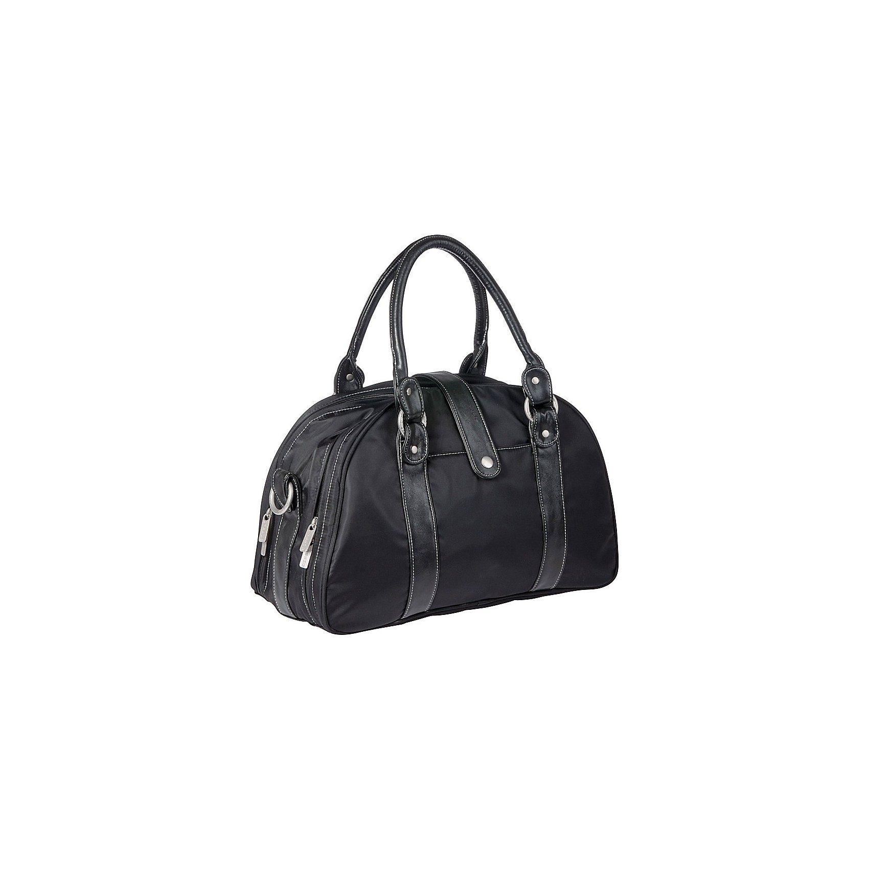 Lässig Wickeltasche Glam Shoulder Bag, Black