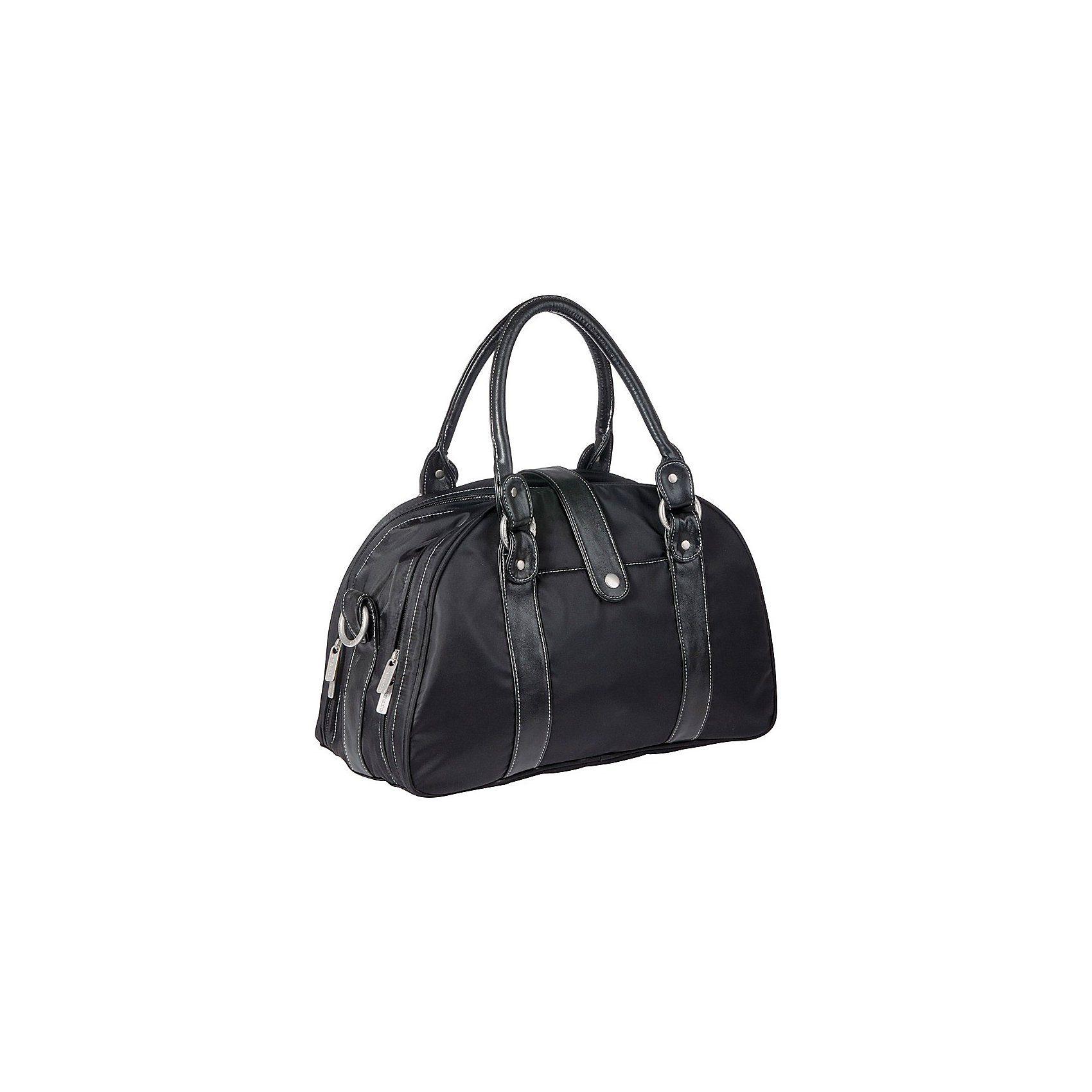 Lässig Wickeltasche Glam Shoulder Bag, Black